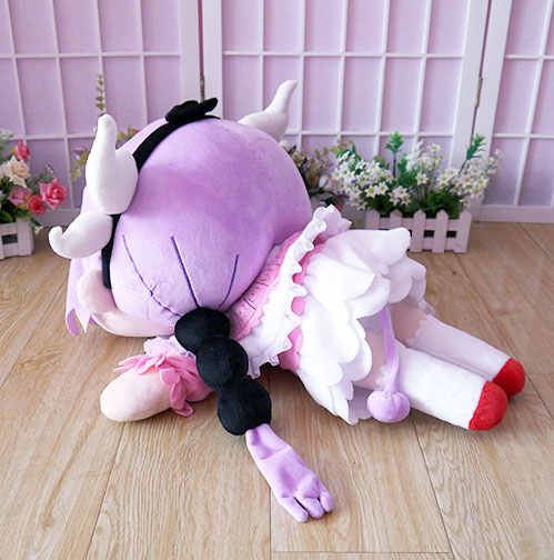 Kobayashi-san chi sem empregada doméstica dragão brinquedo de pelúcia anime kannakamui boneca de pelúcia cosplay 52cm travesseiro macio alta qualidade frete grátis