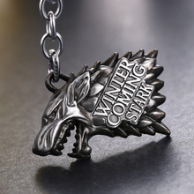 House Stark Wolf Key Chain