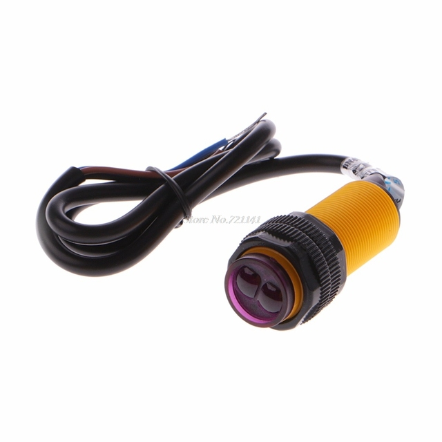 E18 D80NK Fotocel Module Infrarood Obstakel Vermijden Naderingsschakelaar Dropship