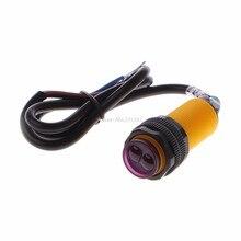 Módulo fotoelétrico do sensor E18-D80NK, obstáculo infravermelho de evitação, interruptor de proximidade, dropship