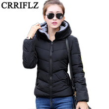 2016 Winter Jacket Women Parka Thick Winter Outerwear Plus Size Down Coat Short Slim Hooded Cotton-padded Jackets And Coats  IF1
