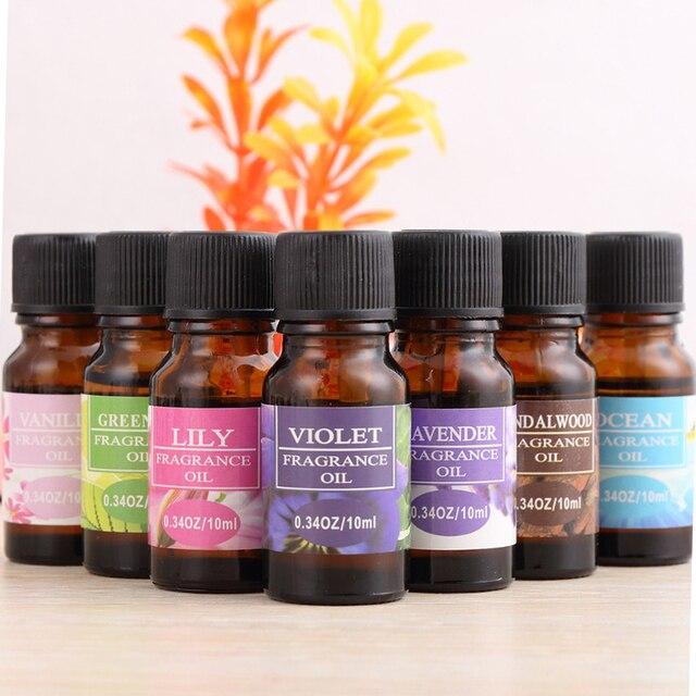 10 ml aceites esenciales 100% puro Natural para difusor quemador cuerpo orgánico relajar cuidado de la piel ambientador aceite humidificador TSLM1