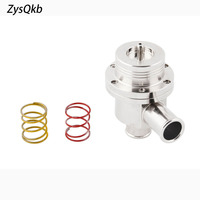 Blow Off Valve 25MM BOV ( 4bar ) FOR VW 2 Spring 14PSI and 7PSI SILVER COLOR