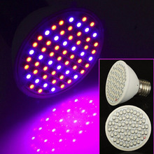 60LEDs Full Spectrum E27 Faster Growth Light Led Grow Light Spot Lamp AC85-265V for Flowers Plant Hydroponics Bulb