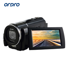 "Ordro HDV-F5 Full HD Digital Video Digital camera 24.0Mega Pixels 1080P Recorder Three"" LCD Display screen Help Large Angle Lens HDMI"