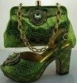 Горячие Продажи Африканской Моды Насосы Обувь И Сумка Набор Для Партии летние Дамы На Высоких Каблуках Туфли И Сумка Набор Бесплатный Shippig ME0020