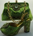 Hot Sale Fashion African Pumps Shoes And Bag Set For Party Summer Ladies High Heels Shoes And Bag Set Free Shippig ME0020