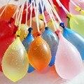 37 pçs/saco Crianças Brinquedo Engraçado Balões Balões Engraçado Água Bombas de Enchimento de Água Ao Ar Livre Crianças Brinquedo Engraçado Magia Balões de Água XQ30S
