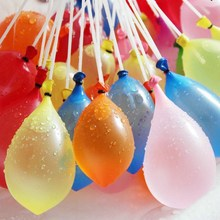 37pcs/bag Children Funny Toy Filling Water Balloons Funny Water Balloons Bombs Outdoor Kids Funny Toy Magic Water Balloons XQ30S