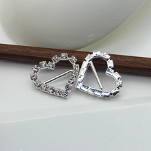 Buy wedding shoes outlet and get free shipping on aliexpress arrival real factory outlet 10pcs 20mm23mm heart shape rhinestone buckles diamond wedding decoration banguet junglespirit Choice Image