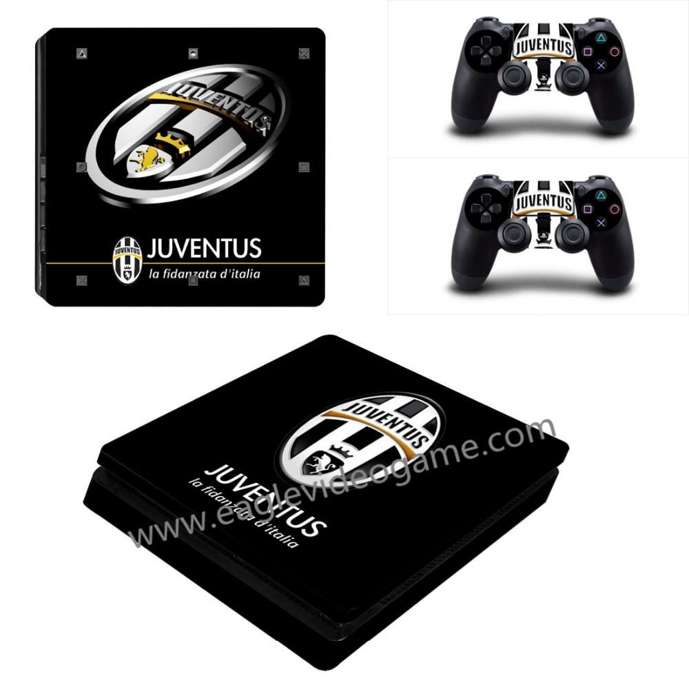 f25853330c50 Juventus sticker football skin for ps4 slim console for ps4 controller skin  protective vinly decal la fidanzata d italia on Aliexpress.com