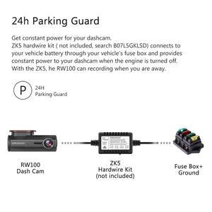 Image 4 - RUCCESS araba dvrı Full HD 1080P çizgi kam WIFI araba kamera kayıt cihazı 24H park monitörü gece görüş İngilizce/rusya versiyonu