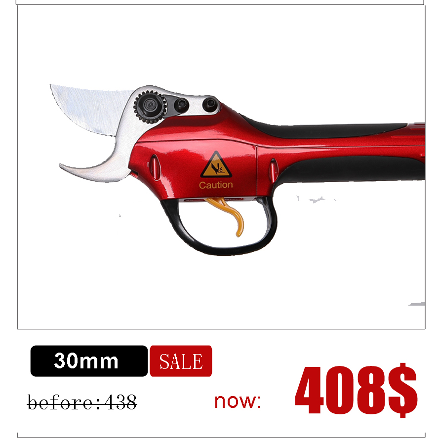 цена Sumsung battery pruning shears HDP36-1 Lithium battery vineyard and orchard electric scissors best pruners (CE Certificate)