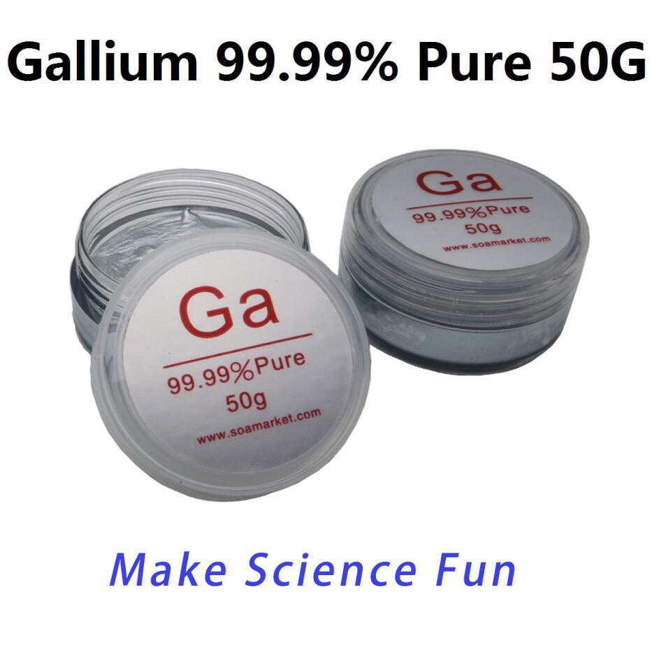 Gallium Metal 50Grams 99.99% Pure Gallium Metal Free ShippingGallium Metal 50Grams 99.99% Pure Gallium Metal Free Shipping