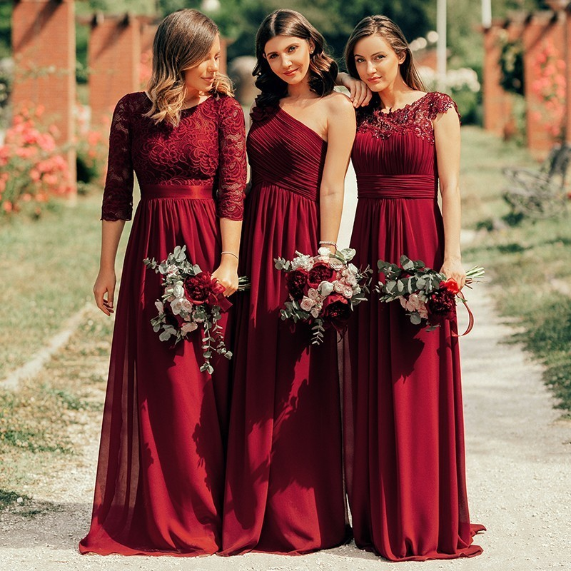 Weddings & Events ...  ... 1722849106 ... 5 ... Evening Dresses Fashion Ever Pretty Purple EP09993 Chiffon Open Back Elegant Long 2020 High Quality Formal Occasion Party Gowns ...