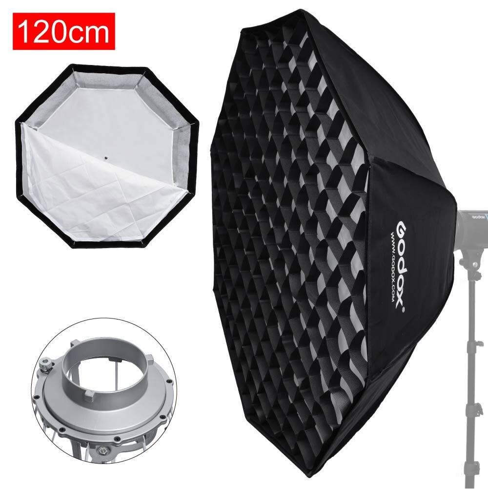 "37 Octagon Honeycomb Grid Softbox With Flash Mounting For: Godox 47"" / 120cm Octagon Umbrella Quick Setup Softbox"
