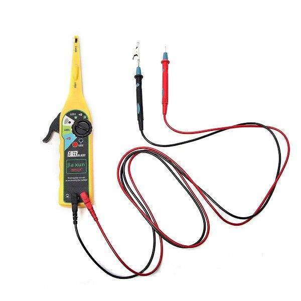 JIAXUN автомобильный диагностический тестер, ручка, Автомобильный светодиодный тестер электрической цепи, лампа, пробник, светильник, 0-380 Вольт - Цвет: Yellow