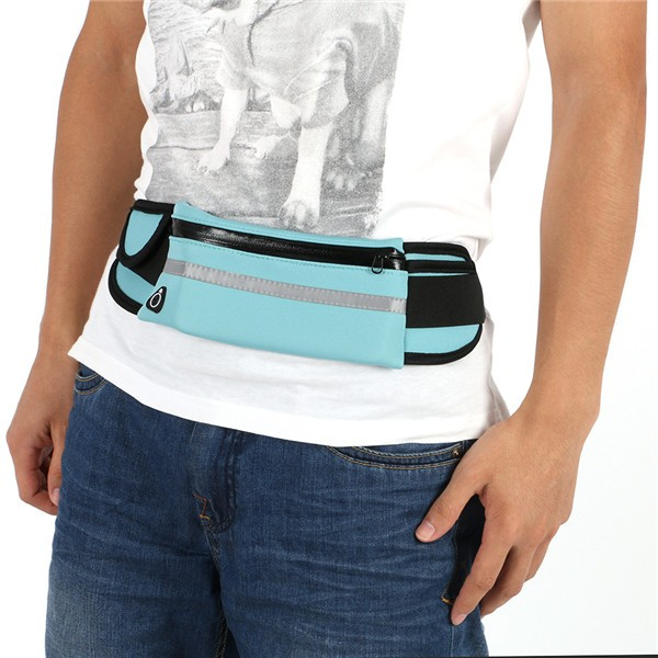 Hot Outdoor Running Waist Bags Men Women waist Packs Bags Unisex Sport Nylon Waistband for accessory men Small Travel Belt Bag 11