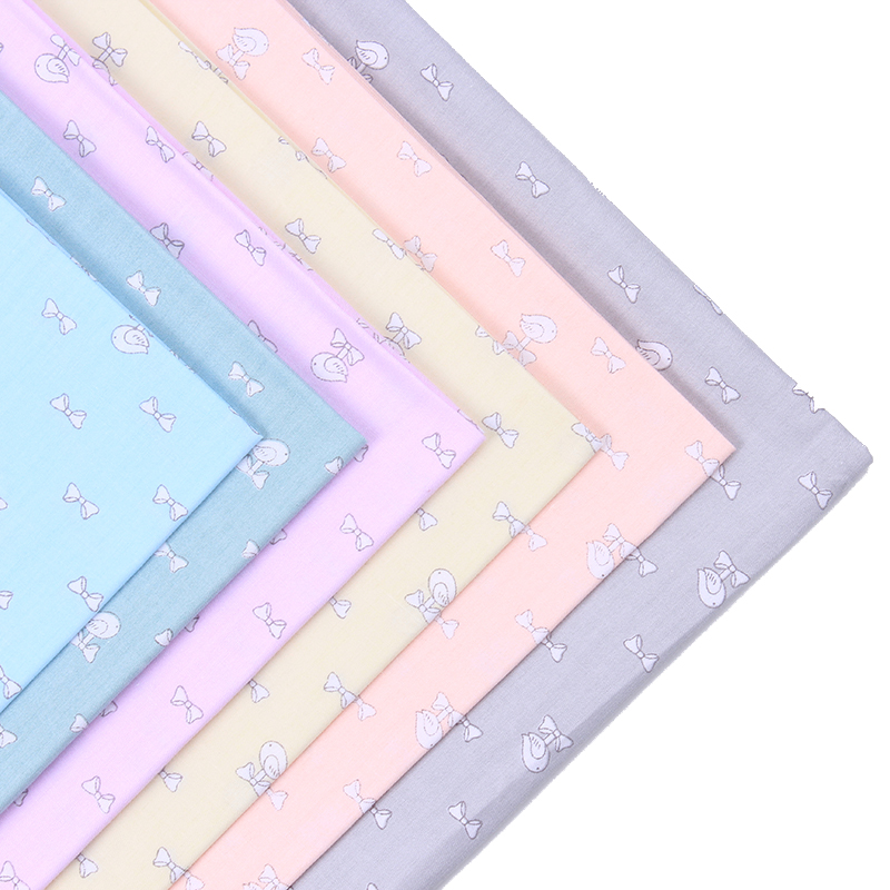 2016 New 6 pic/lot 40x50cm Cotton Fabric Sewing Quilting Patchwork quilts Tissue baby dress Bedding tecidos DIY Doll cloth t19