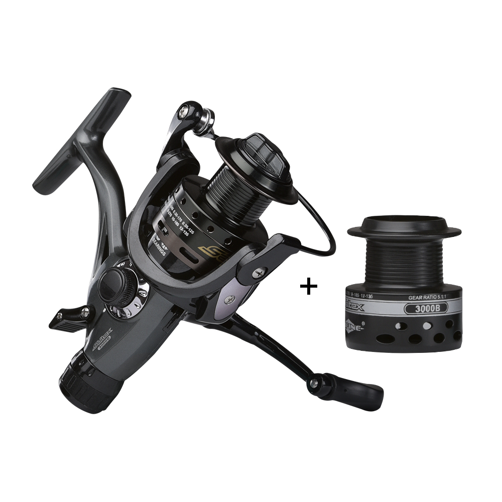 Obei saltex 10KG Drag Carp Fishing Reel with Extra Spool Front and Rear Drag System Freshwater Spinning ReelObei saltex 10KG Drag Carp Fishing Reel with Extra Spool Front and Rear Drag System Freshwater Spinning Reel