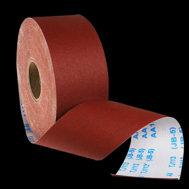 Practical 1meter Emery Cloth Roll Polishing Sandpaper Polishing Tools For GrindingMetalworking Dremel 80/100/120/150/180/240/320