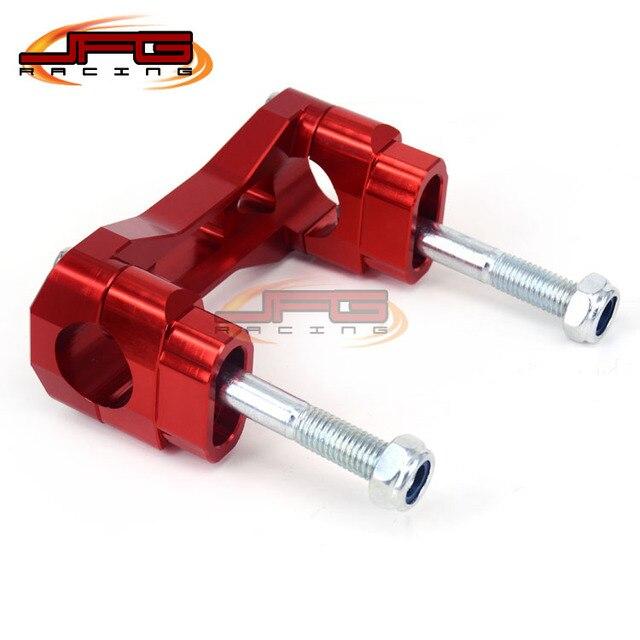 Honda CR125 CR250 CR500 CRF250 CRF450 CFR250R CFR450R CFR450X CFR250X XR250 JFG RACING Motorcycle 1 1//8 28mm Handlebar Fat Handle Bar Pad Grips Set Red