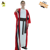 Hot Sale Adult Men Abraham Costume Tranitional Abraham Fancy Dress Carnival Party Role Play Abraham Ethnic Costumes For Party