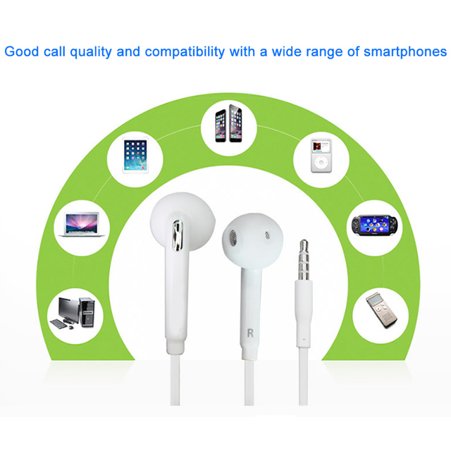 100% Original Samsung EO-EG920 Earphone In-ear With control Speaker Wired 3.5mm headsets With Mic 1.2m In-ear Sport Earphones Audio Audio Electronics Electronics Head phone Headphones & Headsets color: White