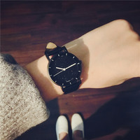 Small Fresh Compact Mini Simple Wrist Watches Women S Fashion Star Small Dial Quartz Clcok For
