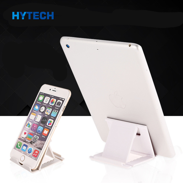 IMIDO Plastic Universal Mobile Phone Stand Table Holder Foldable And Easy to Carry Mount Mobile Phone Holders for Desk