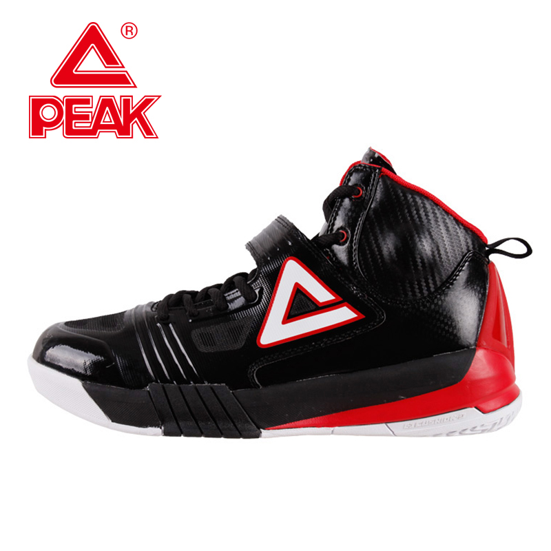 PEAK SPORT Hurricane II Men Basketball Shoes Professional Player Carl Landry FOOTHOLD Cushion-3 Tech Sneakers Boots EUR 40-50 peak sport professional men women basketball shoes cushion 3 revolve tech sneaker breathable athletic ankle boots size eur 40 48