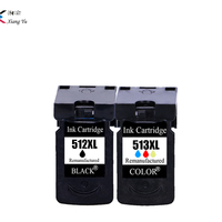 PG 512 pg512 CL 513 ink cartridge replacement for Canon PG 512 CL 513 for Canon MP240 MP250 MP270 MP230 MP480 MX350 IP2700