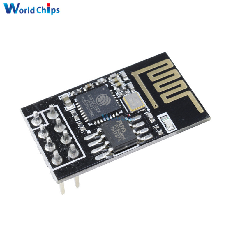 Integrated Circuits Esp-01 Esp-01s Esp8266 Rgb Led Controller Adpater Wifi Module For Arduino Ide 16 Bits Light Ring Christmas Diy Ws2812b Ws2812 Electronic Components & Supplies