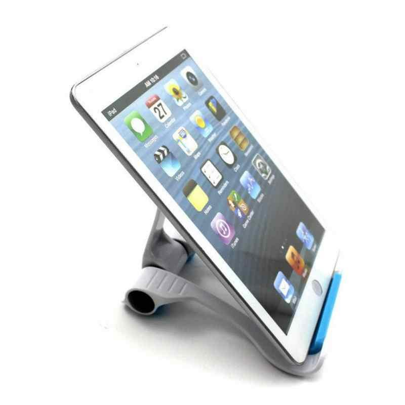 Universal tablet pc titular dobrável ajustável ângulo suporte de telefone suporte flexível para samsung tablet pc 13*10*2.5cm