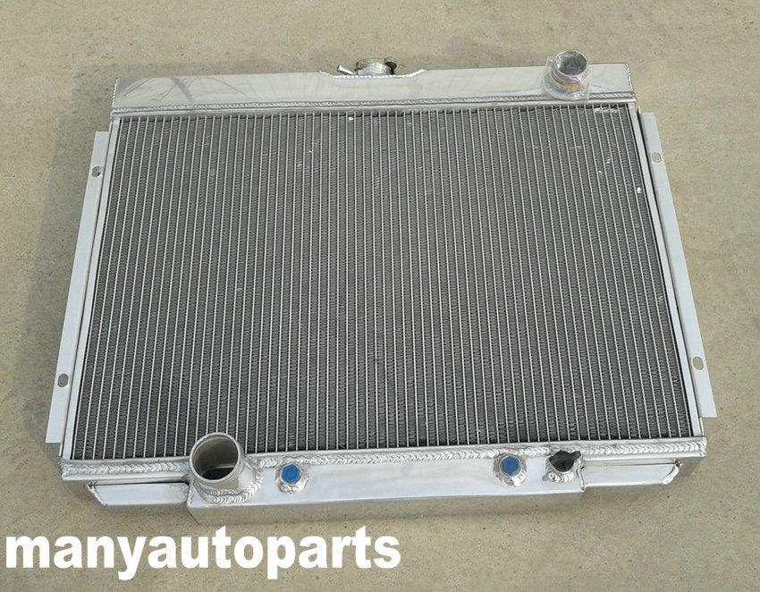 ALUMINUM RADIATOR 1967-1970 Ford Mustang Mercury Cougar//XR7//Torino 1968-1969
