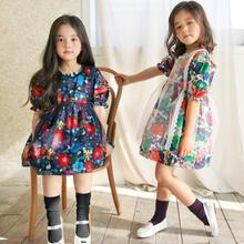 2019 New Summer gril dress Cute Baby Kids Clothes Girls Dres