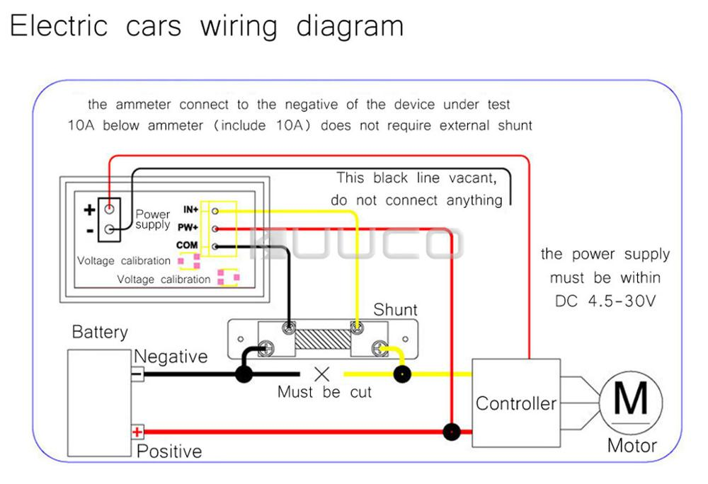 Dc External Shunt Amp Meter Wiring Diagram. . Wiring Diagram on