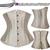 2017 Nueva Moda 28 espiral Corsé deshuesado acero de Underbust Corsés Y Bustiers cordón apretado Entrenador Cintura Más El Tamaño de La Talladora Del Cuerpo