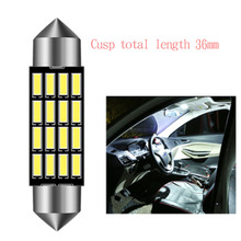 In-car reading lamp led in-car  roof backup box double-pointed