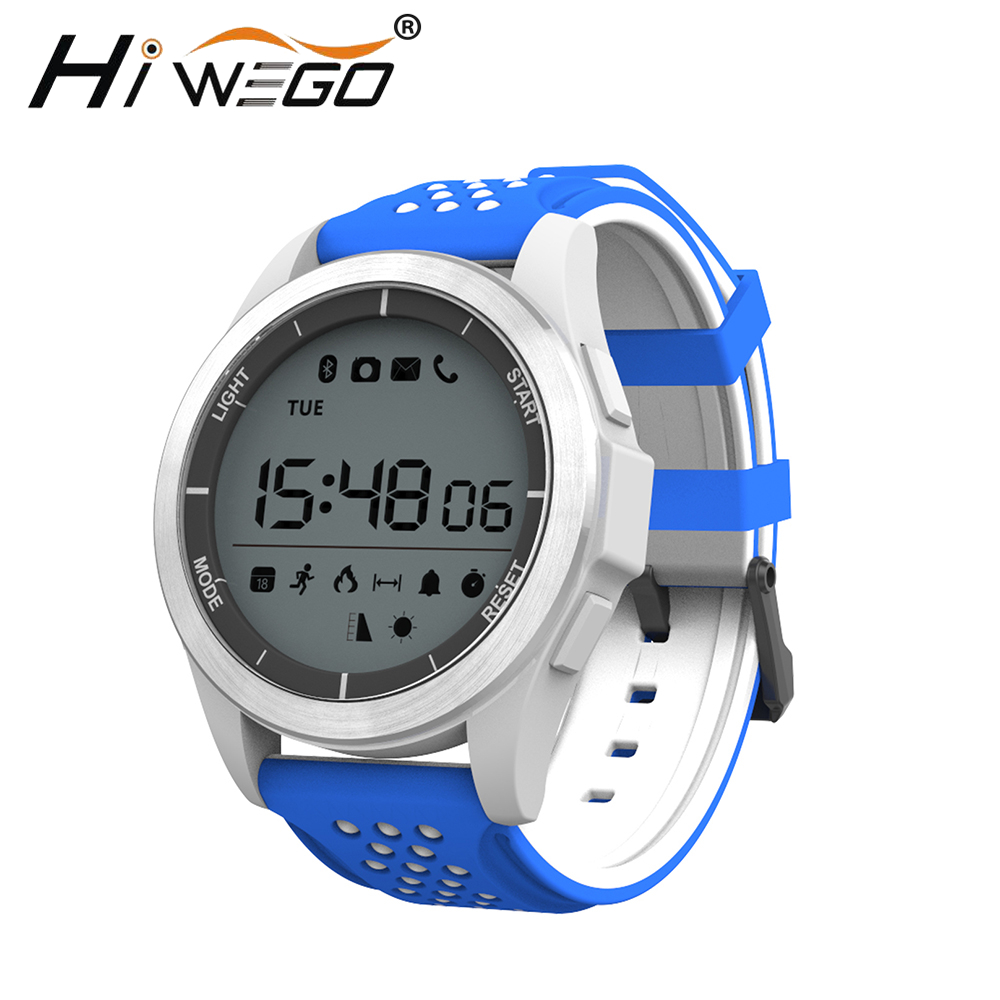 2017 hiwego f3 smart watch bracelet ip68 waterproof. Black Bedroom Furniture Sets. Home Design Ideas