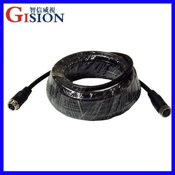 Aviation Cable,3M/5M/10M/15M/20M 4 PIN Aviation Connector Video and Audio Cable,Professional Extend Cable for CCTV Camera/DVR