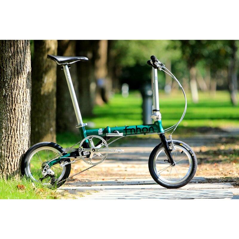 Fnhon fga1403 bicicleta plegable de aluminio 14 \