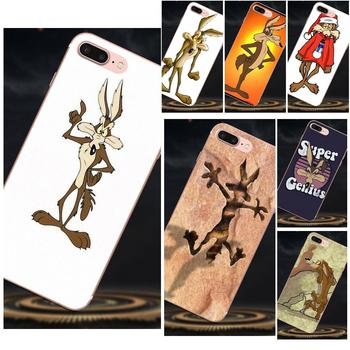 Soft TPU Phone Cases For Xiaomi Redmi Note 2 3 3S 4 4A 4X 5 5A 6 6A Pro Plus Wile E Coyote image