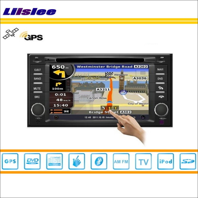 Liislee For Subaru Forester 2003 2013 Car Radio Audio Video Stereo CD DVD Player GPS Map