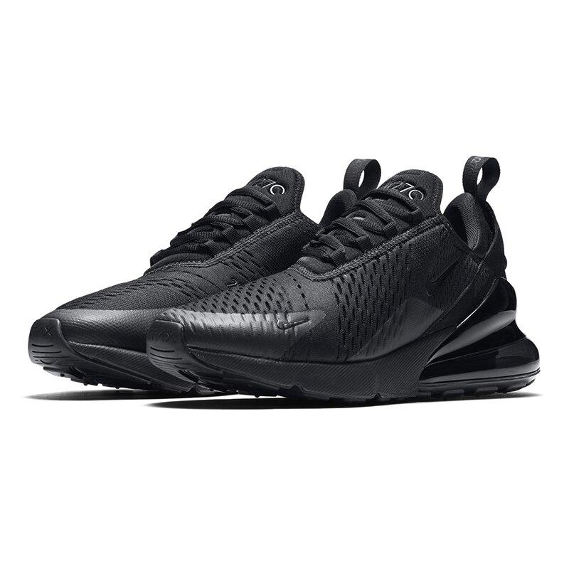D'origine de Nike Air Max 270 Hommes Respirant chaussures de course en plein Air Sport Confortable à lacets Durable chaussures de jogging AH8050 - 3