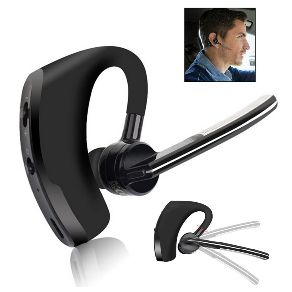 V8 Hands Free Wireless Stereo V4.0 Bluetooth Business Headphones Phone Bluetooth Headset Car Driver Handsfree Earphone With Mic2 remax 2 in1 mini bluetooth 4 0 headphones usb car charger dock wireless car headset bluetooth earphone for iphone 7 6s android