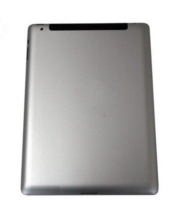 Замена оригинальный задняя крышка для Apple Ipad 4 WIFI версия серебряный алюминиевый крышка батарейного отсека дверные корпус запчасти задняя крышка