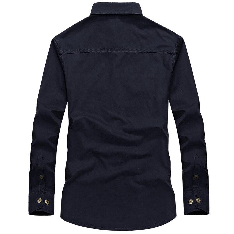 Camisa de combate de los hombres U.S Camisa militar AFS JEEP Marca - Ropa de hombre - foto 5
