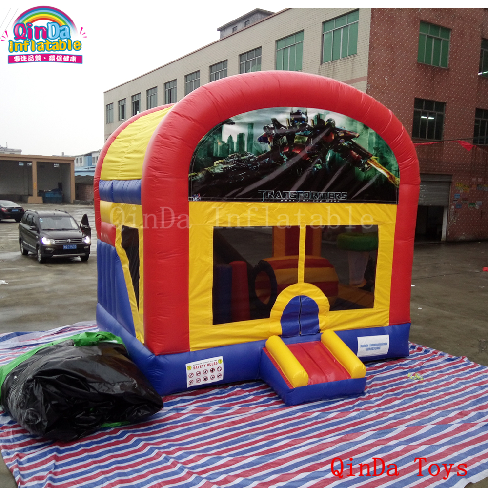4.5*3.6*4.5m China jumping bounce house,inflatable castle bounce house with free air blower commercial tropical inflatable jumping bounce house inflatable kids combo bouncy house for sale