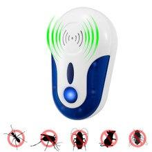 Ultrasonic Pest Rejeitar Rejeitar Magnetic Repeller Anti Mosquito Inseto Eletrônico conveniente e prático para Uso Doméstico Venda QUENTE